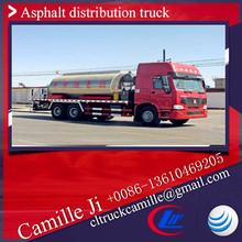 12 ton SINO HOWO asphalt distributor bitumen sprayer lpg 12 ton tankers for asphalt