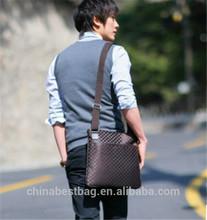 China wholesale cheap 2014 Men's fashion shoulder bags