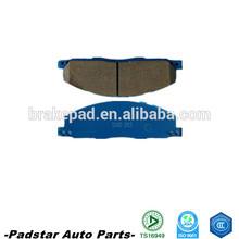 Auto brake for toyota parts chevrolet captiva car brake pad toyota hilux in thailand