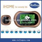 peephole door viewer,funny doorbell,wireless video door phone intercom system