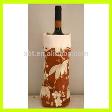 Brown Canvas Wine Bag/Wine Carrier/Wine Holder