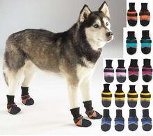 2014 Professional comfortable slip-resistant cut-resistant waterproof dog boots