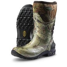 Mens profissionais confortáveis antiderrapante corte resistente customerize neoprene botas de pesca