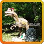 High simulation dinosaur animatronic dinosaur dilophosaurus