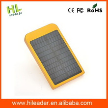 Economic creative silver 2600mah solar power bank