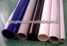 Extruded Plastic 45mm OD 1.2mm thickness transparent pvc tube for Christmas Lights