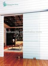 modern design frameless interior sliding glass door
