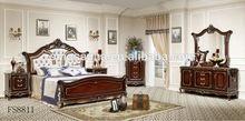 luxury exotic melamine modern bedroom furniture design