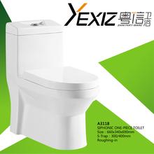 A3118 elegant design one piece toilet sanitary toilet spy