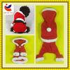 EN 71 velvet dog christmas costume Pet Clothing Dog Clothes