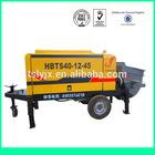 high performance portable concrete mixer and pump