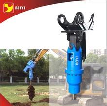attachments hydraulic earth drill