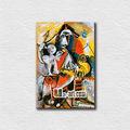 mosquetero cupido y pablo picasso pinturas abstractas