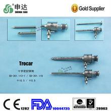 Tonglu Hangzhou Zhejiang China Gold supplier hospital tool High Quality Guarantee Cross Sealed Trocar