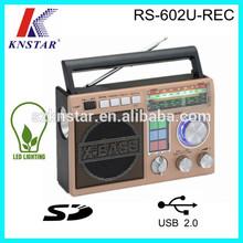 LED torch usb sd mp3 player ham radio china