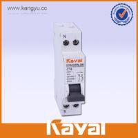 1P+N mini circuit breaker, mini circuit breaker din rail MCB