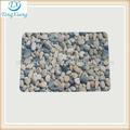 piedra del guijarro alfombras de cuartodebaño