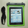 Green PVC Waterproof Dry case bag sleeve Cover Pouch for Tablet Apple iPad 1/2/3/4