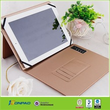 Fashionable hot sale for ipad case cover with pu leather