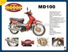 MD100 Cheap 100cc dirt bike for sale, newest arrive motorcross,mini bikes for sale cheap