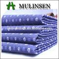mulinsen textil tradicional impresa patrón de popelina 40s lunares de tela de algodón al por mayor