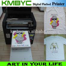 a3 size 6 colors t shirt smart color printer