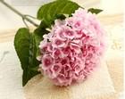 2014 cheap artificial hydrangea flower,Good quality artificial single Hydrangea for sale , Artificial flower