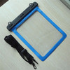 Best selling itmes Underwater Tablet Waterproof Case Dry Bag for iPad 4 3 2 with Strap (Size: 265x 245mm) - blue