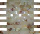 HS-M3312 bathroom random stone mosaic border