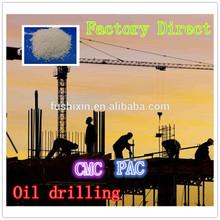 Polvo Granular poli aniónica de celulosa PAC y CMC para la extracción de petróleo de HV alta viscosidad Foshan fábrica