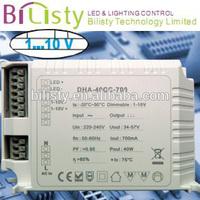 60W 12v constant voltage led 0/1-10v dimming drivers 0-10v led dimmer controller