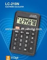 flexible solar cell roll pokect calculator 8digits SLD-210N calculator desktop Mini Calculator