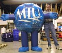 Hot sale customized inflatable turkey costume