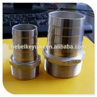 4 inch stainless steel nipple,hose nipple,SUS304
