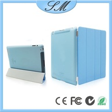 pu leather smart cover case for ipad, for ipad air 2 case