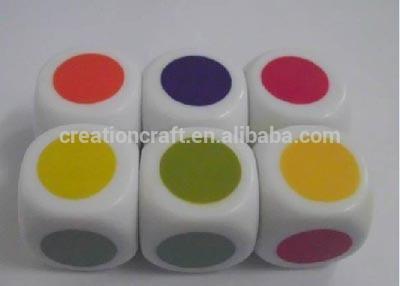 16mm Color Side Dice