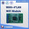 1wan 4lan Ar9331 Embedded Wifi Wireless Module WLM115