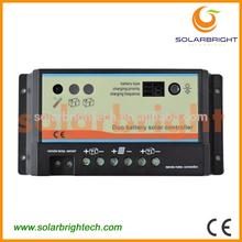 10A 20A 30A 40A MPPT Solar Panel Battery Regulator pwm 12v 24v 48v mini solar power controller with power display