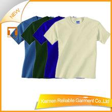 100% cotton children plain t-shirt dresses with good quality