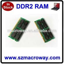 Brand name ram memory ddr2 4gb laptop