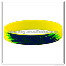 Silicone sports wrist band