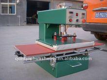 Double position semi-automatic heat press transfer machine