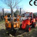 taian jardín tractor dy1150 front end pala cargadora de tractor con pluma telescópica para la venta