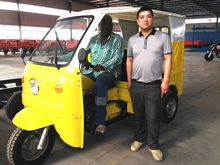 KST150ZK 200cc air cooling petrol 4 passengers taxi passenger tricycles
