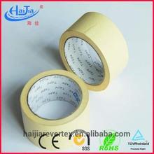 Manufacturer High viscosity adhesive masking tape