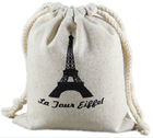 factory wholesale cotton canvas drawstring bag for promotion, gift and shopping