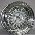 De prata de alta qualidade BBS roda