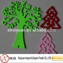 popular different Christmas felt tree