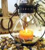 finishing polished nature stone used for candle holder