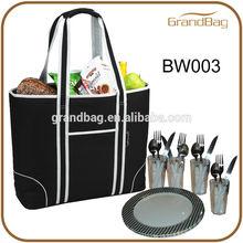 Large Insulated Picnic Cooler Bag / picnic tote bag / cooler bag for picnic